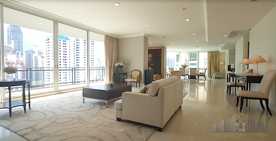 photo of Penthouse Condominium Royce Private Residence Condo 4 Bedrooms For Rent 320,000 THB Per Month