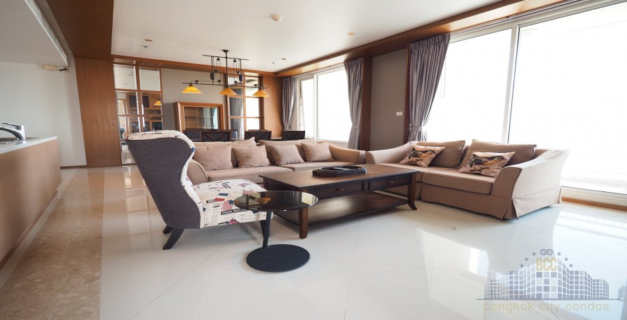 photo of The Empire Place Chong-Nonsi Condo 3 Bedrooms  For Rent 100,000 THB Per Month